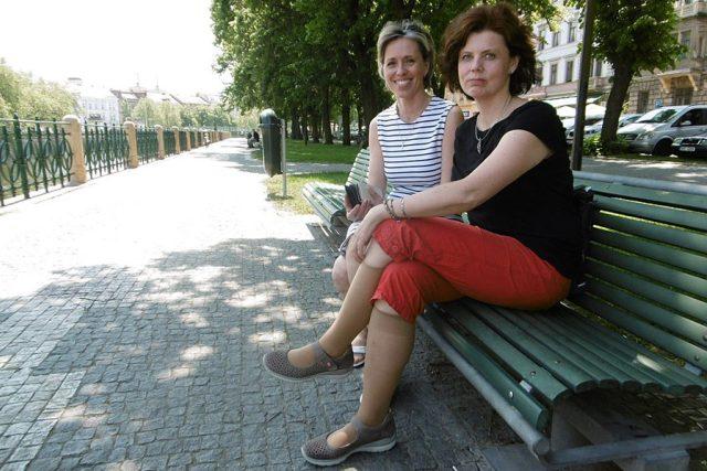 Klimatoložka Stanislava Kliegrová a Alena Zárybnická