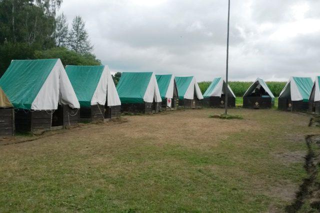 Dětský tábor Frančíkovna u Hořehled nedaleko Spáleného Poříčí | foto: Jana Kosová