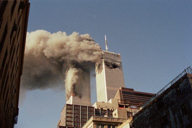 New York 11. září 2001, World Trade Center těsně po útoku