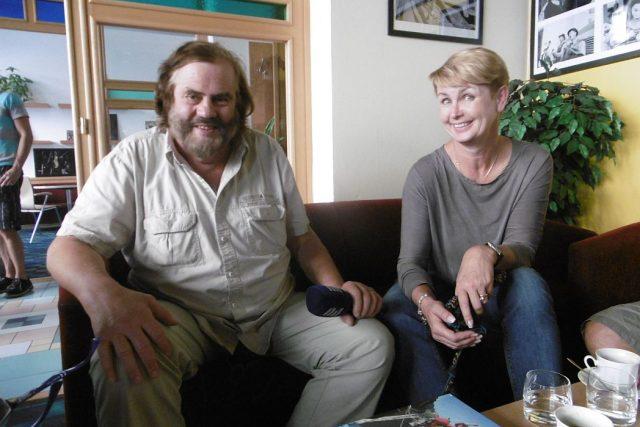 Cestovatel Leoš Šimánek křtí svou novou knížku s názvem Amerikou po hřebenech hor