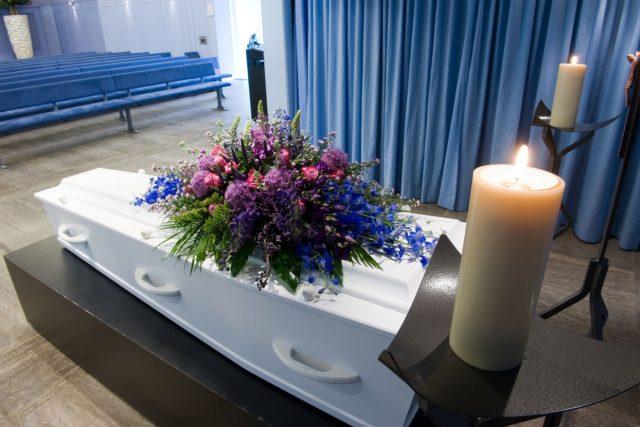 Pohřeb (ilustrační foto)