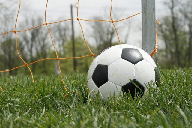 Fotbal, míč (ilustrační foto)