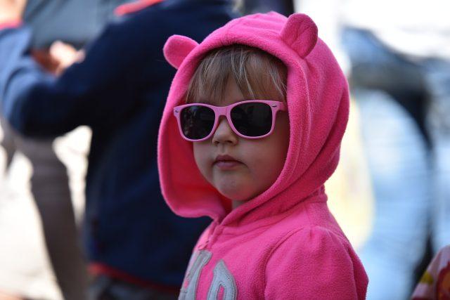 Uši. Sluch u dětí (ilustrační foto)