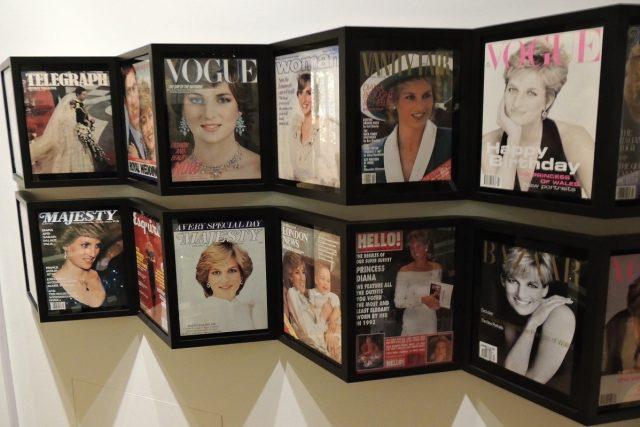 Princezna Diana patřila mezi nejfotografovanější lidi světa | foto: Jiří Hošek
