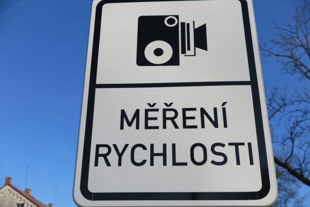 Dopravní značka upozorňující motoristy na radar (ilustrační foto)