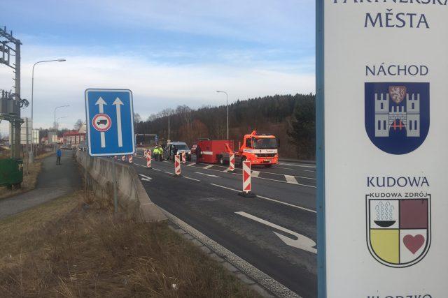 Policie na hranicích s Polskem cvičně zavedla kontroly.
