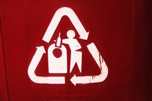 recyklace - třídění - tříděný odpad
