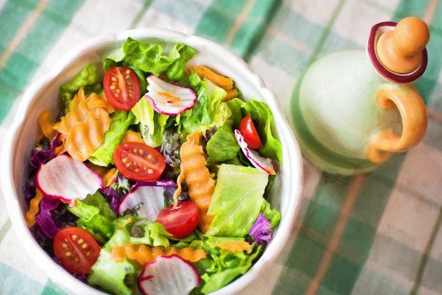 Salát jako lehké hlavní jídlo