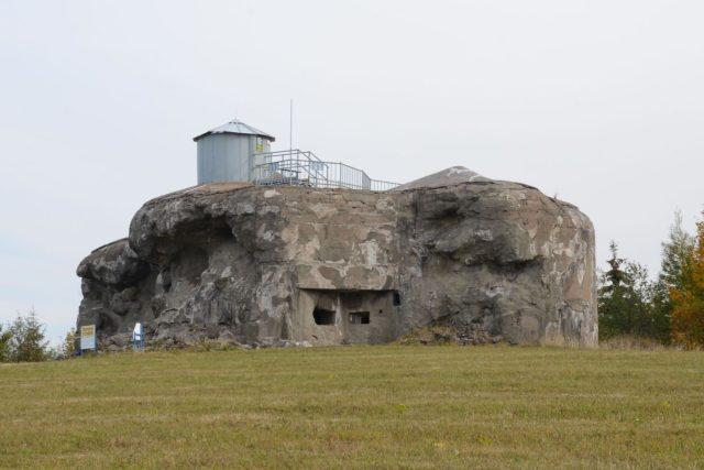 Pevnost Dobrošov nedaleko Náchoda