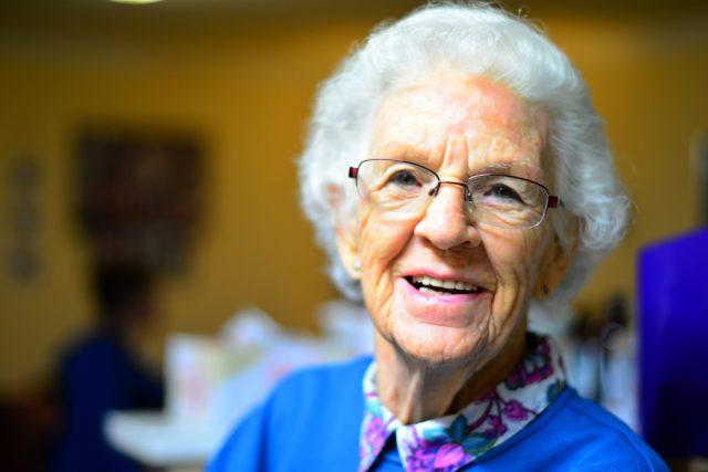 Seniorka (ilustrační foto)