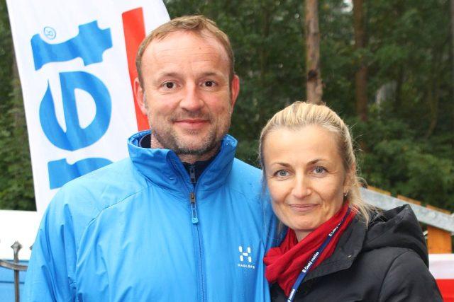 Tomáš Dvořák a Romana Pacáková