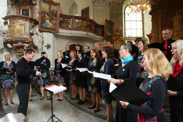 Smíšený sbor Jitro se sídlem v Hradci Králové