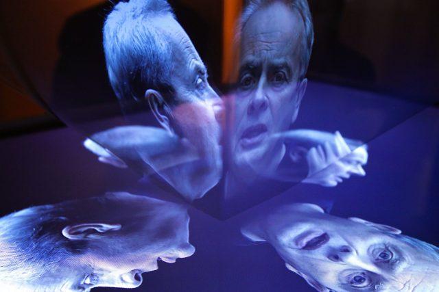 Hologram Alexandr Hemala | foto: Richard Špůr