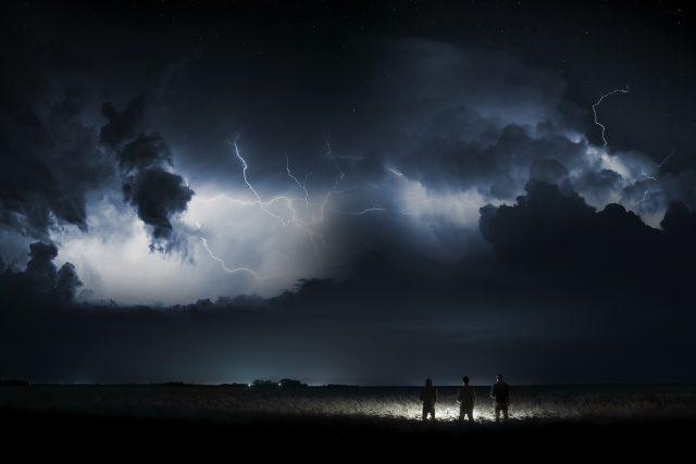 Krajem se přehnaly bouřky,  které připravily tisíce lidí o elektřinu  (ilustrační foto) | foto: Fotobanka Pixabay