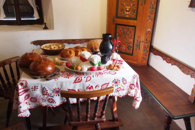 Ukázka velikonoční tabule  (ilustrační foto) | foto:  Polabské muzeum