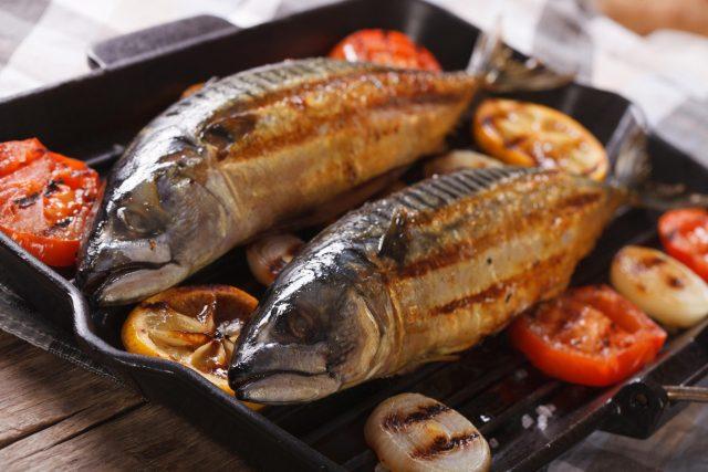 Grilované makrely se zeleninou  (ilustrační foto) | foto: Fotobanka Profimedia