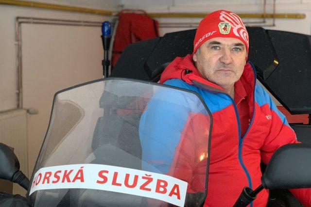 Náčelník horské služby Krkonoše Pavel Jirsa