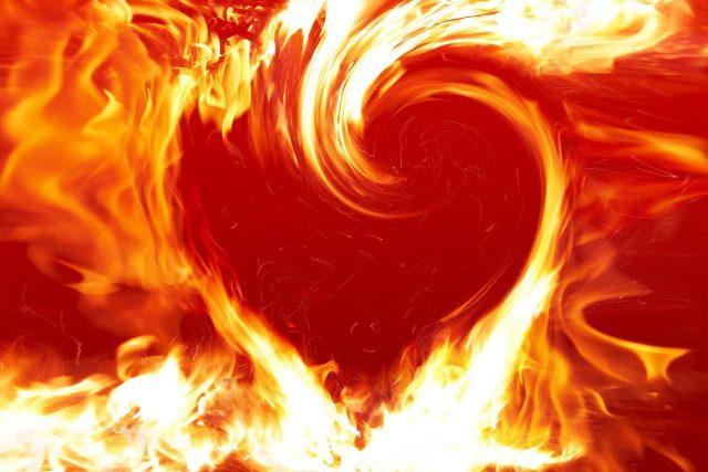 Srdce z ohně