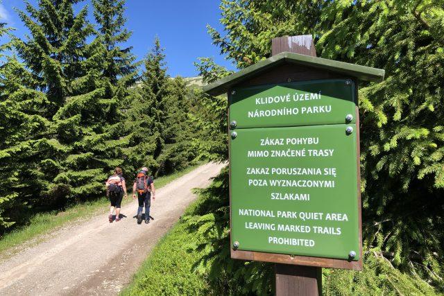 Nová zonace, klidová území, nový návštěvní řád KRNAP a změna značení cyklotras