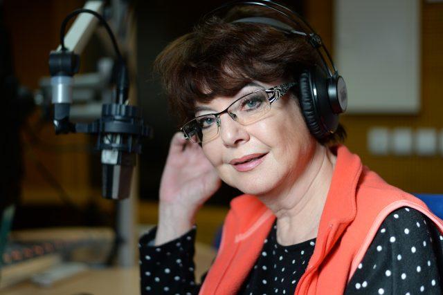 Moderátorka Marie Tomsová | foto: Honza Ptáček,  Český rozhlas