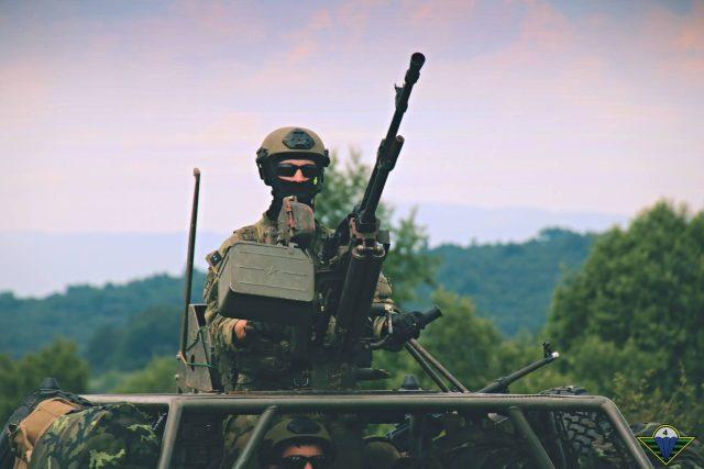Výsadkář na cvičení | foto: 43. výsadkový prapor Chrudim