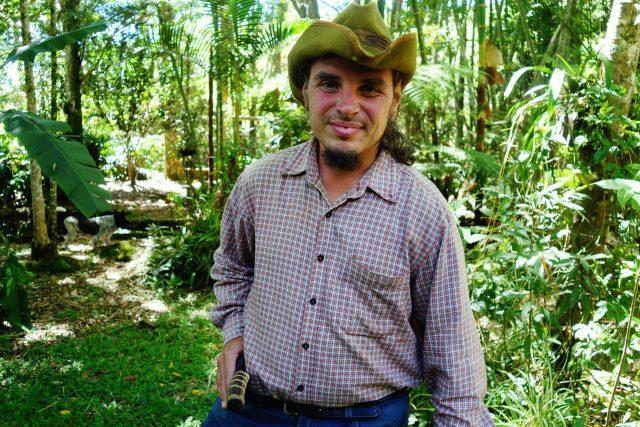 Na farmě v Kolumbii v roce 2017