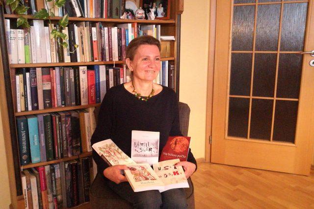 Spisovatelka Klára Gočárová
