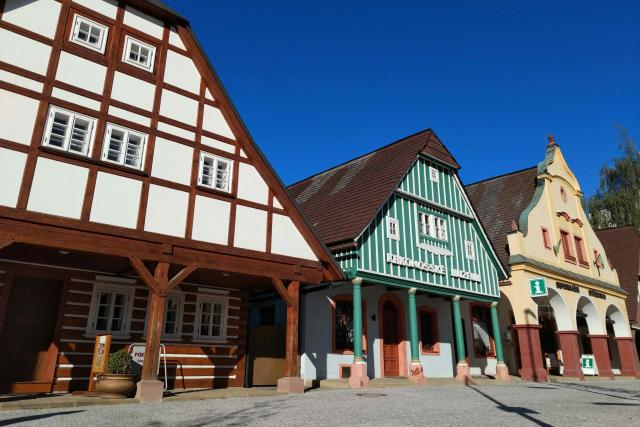 Krkonošské muzeum ve Vrchlabí – Čtyři historické domky