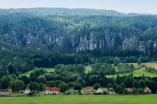 Panorama Křížového vrchu