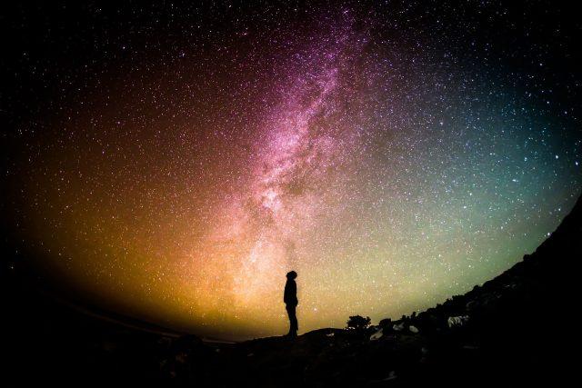 Při dobývání vesmíru potřebuje lidstvo nadšení i vize - Mléčná dráha (ilustrační foto)