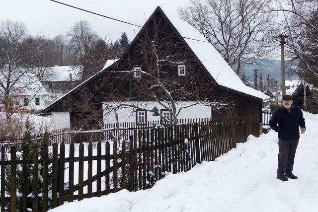 V horní části Radvanic na Trutnovsku je vesnická památková zóna