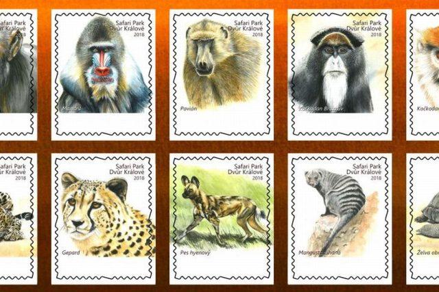 Safari Park Dvůr Králové připravil na počest Josefa Vágnera emisi vlastních známek