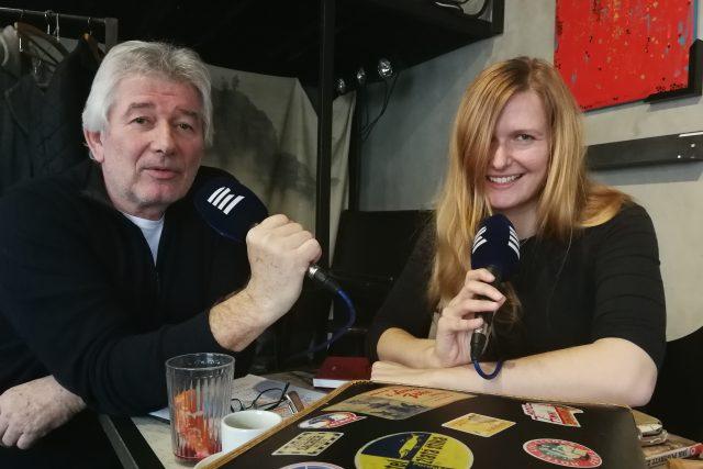 Petr Voldán s Inou Píšovou - první nositelkou Ceny Hanzelky a Zikmunda Cestopis roku