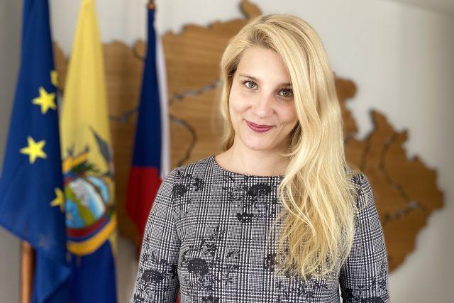 Práce na honorárním konzulátu České republiky v Ekvádoru byla pro Anežku Pařízkovou potěšením | foto: archiv Anežky Pařízkové