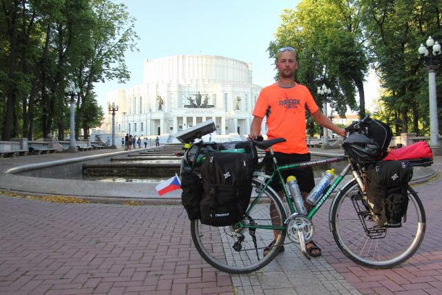 S bicyklem na cestách - Minsk