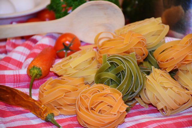 Tagliatelle - tradiční italské dlouhé ploché nudle  (ilustrační foto)   foto: Fotobanka Pixabay