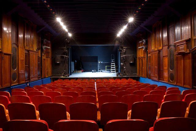 Hlavní scéna Divadla Drak v Hradci Králové