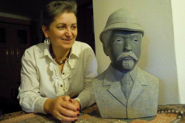 Marie Imbrová s Emilem Holubem