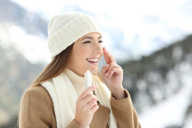 Péče o pokožku je v zimě ještě důležitější   foto: Profimedia