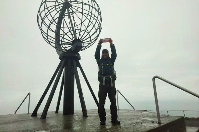 Ivan Mitrus má v nohách skoro 9 000 km. Za rok a půl došel ze Sicílie až za polární kruh do Norska | foto: Ivan Mitrus