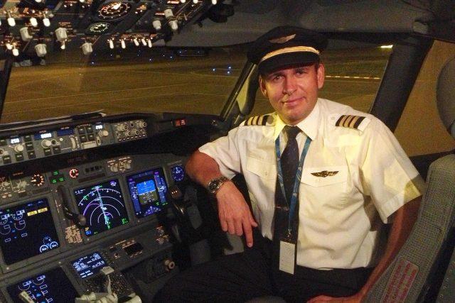 Profesionální pilot dopravních letadel Michal Souček