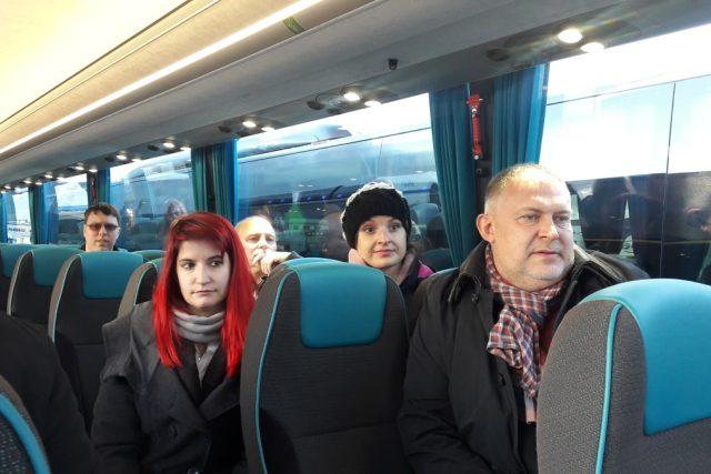 Do jednoho autobusu se vejde 65 sedících cestujících.jpg | foto: Ivana Bernáthová,  Český rozhlas