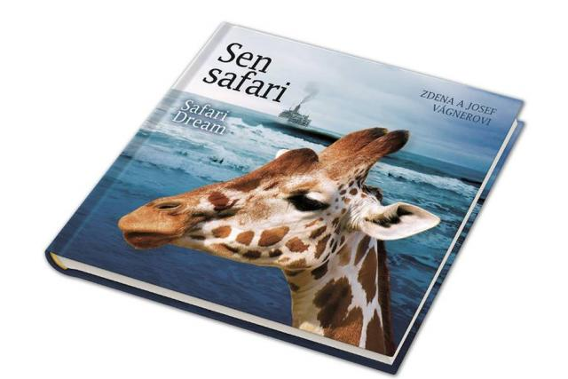 Kniha Sen safari