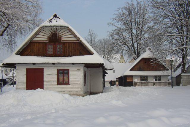 Zima jako z pohádky - Betlém Hlinsko | foto: archiv Muzea v přírodě Hlinsko