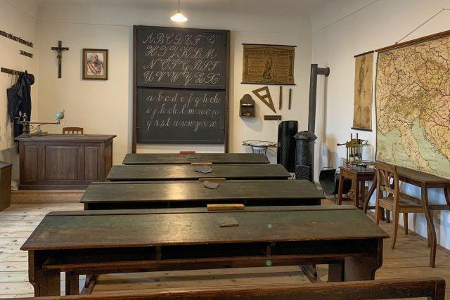 Historická třída v muzeu Jana Amose Komenského   foto: Jana Zemková,  Český rozhlas