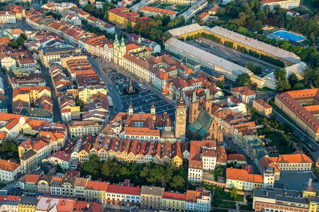 Česko z nebe - Hradec Králové