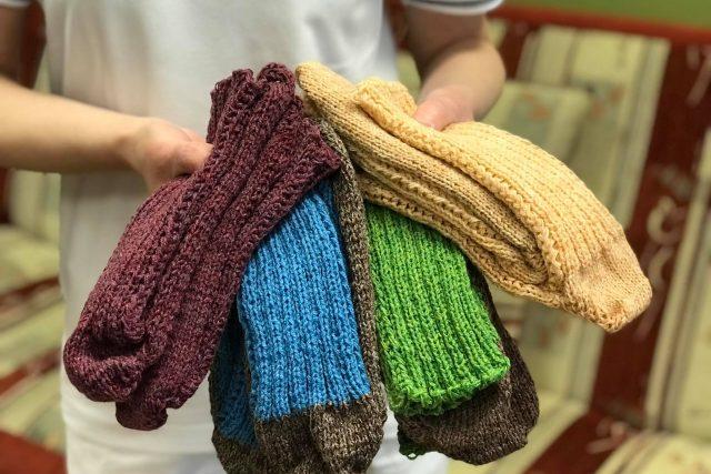 Náchodská nemocnice žádá veřejnost o pletené ponožky | foto: Oblastní nemocnice Náchod