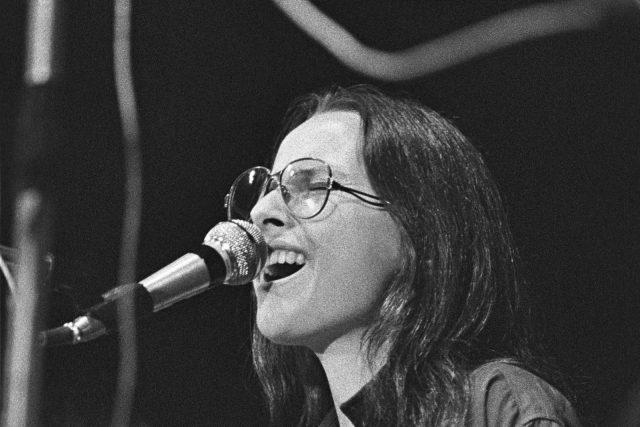 Zuzana Navarová,  Nerez,  Vokalíza 1982,  Praha,  Žofín   foto:  Gempe,  Wikimedia Commons,  CC BY-SA 4.0