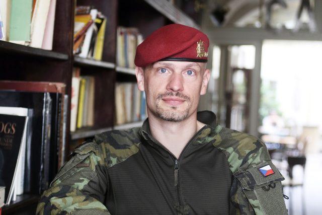 Výkonný důstojník na Generálním štábu Armády ČR Ivo Zelinka | foto: Jan Zátorský