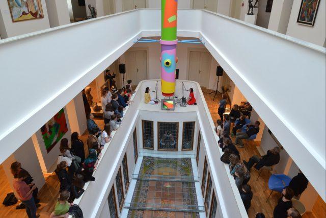 Koncert WIDT v Galerii moderního umění v Hradci Králové